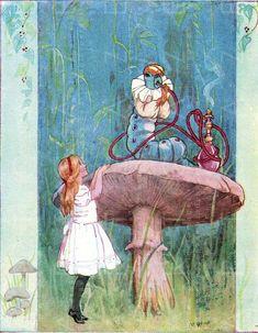 margaret tarrant illustrations - Google Search Alice In Wonderland Vintage, Alice In Wonderland Illustrations, Book Illustrations, Antique Prints, Vintage Prints, Stella Rose, Antique Illustration, Adventures In Wonderland, Nursery Prints