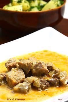 R'n'G Kitchen: Wieprzowina z żętycą