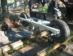 The sawmill project has a history already. I started with a bandsaw . Portable Bandsaw Mill, Homemade Bandsaw Mill, Lumber Mill, Wood Mill, Fire Pit Food, Chainsaw Mill Plans, Work Tools, Scroll Saw, Ecology