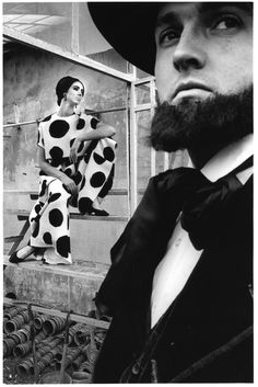 Photo by Jeanloup Sieff, Harper's Bazaar, 1964