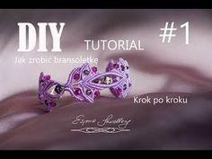 Jak zrobić makramową bransoletkę cz.1 How to make macrame bracelet part 1 - YouTube