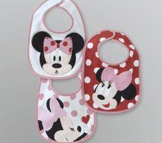 Cute little Minnie bibs (GOT THESE!)