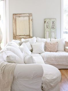 cannot get enough of this sofa . uses & decor options for it are almost limitless ! love it !