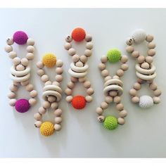A personal favorite from my Etsy shop https://www.etsy.com/listing/291141325/eco-friendly-wooden-rattle-toy-100