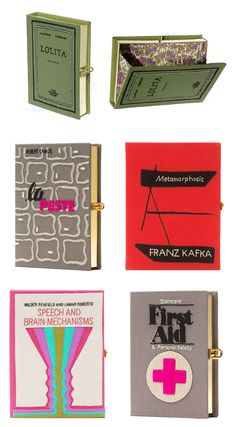 Book Clutch by Olympia Le Tan.
