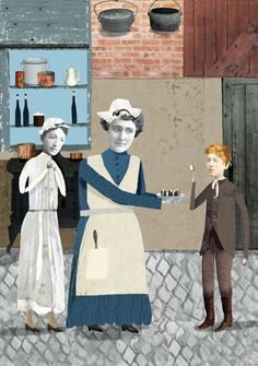 Oscar and Lucinda 2 by Peter Carey. Illustrator - Katherine Streeter