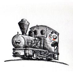 【一日一パンダ】 2014.7.14 ドイツのコッペル社の製造した鉄道の中には 小さくて短くてポテッっとしてるものもあるよ。 1900年代初頭に日本でも軽便鉄道の流行で コッペル社の製品を輸入しているよ。 #コッペル