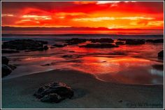 Walking along the Jeffreys Bay beach and watching the sunrise over the ocean and the mountains is always a special moment. Joey Nel took this spectacular image. Advertise Your Business, Online Business, Selling Your House, One Light, South Africa, Advertising, Sunset, Day, Travel