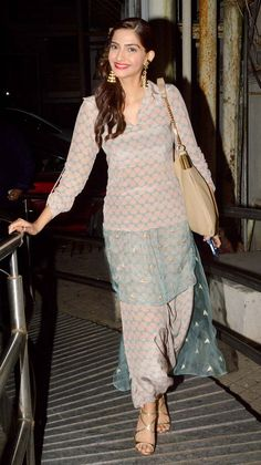 Sonam Kapoor at screening of 'Finding Fanny' #Bollywood #Fashion #Style #Beauty