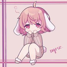 Kawaii Girl, Kawaii Anime, Kawaii Drawings, Pop Singers, In A Heartbeat, Vocaloid, Penguin, Icons, Random
