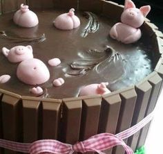 Bahahahahaha just might have to try this one someday...Pigs in a Barrel Gone Viral. No recipe, just a great idea!