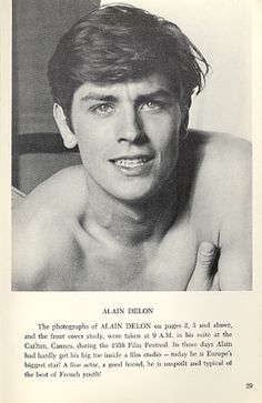 Alain Delon Alain Delon, Old Hollywood Glamour, Classic Hollywood, Man Crush Everyday, Vintage Boys, Classic Movie Stars, Kid Poses, Most Handsome Men, Actor