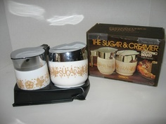 Vintage 1974 Gemco Sugar Creamer Pyrex Corelle Gold Butterfly Pirate Gold | eBay Vintage Kitchenware, Vintage Dishes, Vintage Glassware, Vintage Pyrex, Vintage Decor, Retro Vintage, Vintage Style, Corelle Dishes, Pirates Gold