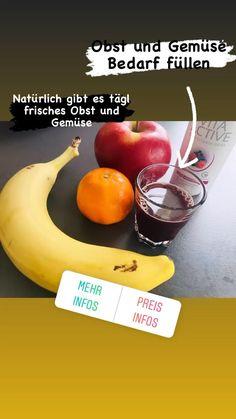 Deckt den täglichen Bedarf an Obst und Gemüse. Banana, Fruit, Health, Food, Fruit And Veg, Fresh, Health Care, Essen, Bananas