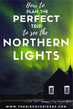 Northern Lights I Aurora Borealis I Iceland I Scotland I Norway #nature #travel #winter
