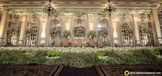 Designer Wedding Setup Make your wedding stage more charming with this gorgeous wedding decoration. For more information call on - wedding stage