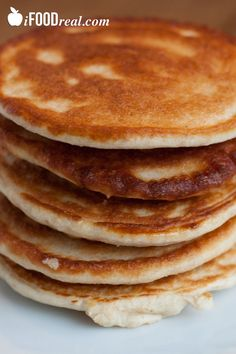 4 Ingredient Oatmeal Protein Pancakes Recipe (Use AdvoCare chocolate or vanilla Muscle Gain protein powder)