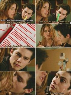 Teen Wolf season 4 episode Stiles and Malia Stiles Teen Wolf, Teen Wolf Malia, Stiles And Malia, Teen Wolf Dylan, Teen Wolf Cast, Teen Wolf Memes, Teen Wolf Quotes, Teen Wolf Funny, Malia Tate
