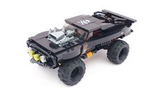 Big Rat | Pat Lacroix | Flickr Lego Disney, Disney Cars Toys, Lego Poster, Lego Wheels, Big Lego, Lego Creative, Lego Sculptures, Lego Truck, Amazing Lego Creations