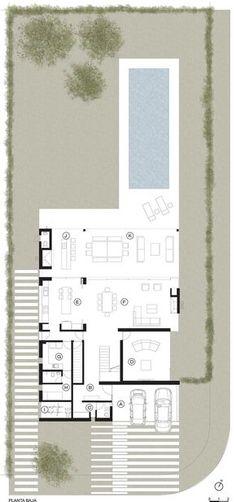Una casa, Planta de planos de pisos