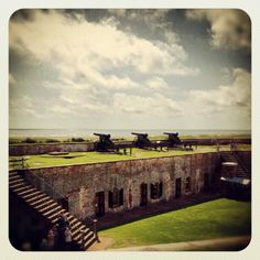 Fort Macon State Park, What A Great Place.  It makes education FUN..The Beach area is a Plus...Great any time of the Year...Free, Free Free