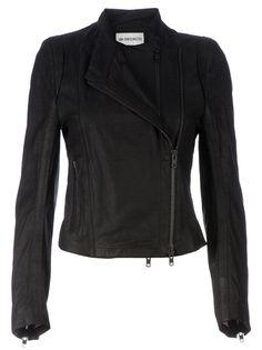 Ann Demeulemeester Blanche Leather Biker Jacket