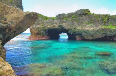 Niue swimming lagoon