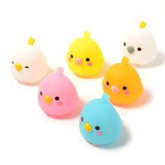 Kotori Tai Bird Light-Up Mascots 1 Polymer Clay Kawaii, Polymer Clay Charms, Polymer Clay Projects, Polymer Clay Art, Diy Clay, Clay Crafts, Polymer Clay Figures, Polymer Clay Miniatures, Polymer Clay Creations