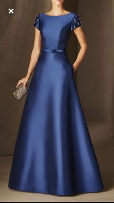 Buy Elegant Dresses For Women from 1453 at Stylewe. Online Shopping Stylewe Solid 1 Women Elegant Dresses Ball Gown Elegant Blue Polyester Short Sleeve Pockets Elegant Dresses, The Best Evening Elegant Dresses. Discover unique designers fashion at stylewe Elegant Maxi Dress, Elegant Dresses For Women, Blue Ball Gowns, Ball Dresses, Bridesmaid Dresses, Prom Dresses, Formal Dresses, Office Dresses, Dance Dresses