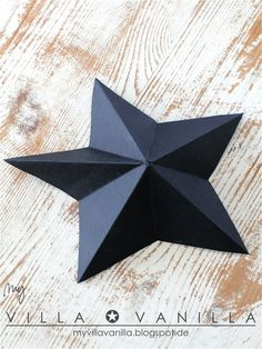 Anleitung Sterne falten