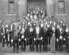 Waiters Union Portrait 1900s 8x10 Reprint Of Old Photo