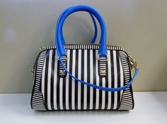 Loving This Perky Striped Henry Bendel Bag Just In Never Carried Via Clotheshorse Anonymous Dallas Tx Glass