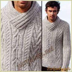 Hand Knitting, Knitting Patterns, Handgestrickte Pullover, Male Hands, Hand Knitted Sweaters, Crochet, Knitwear, Men Sweater, Fashion