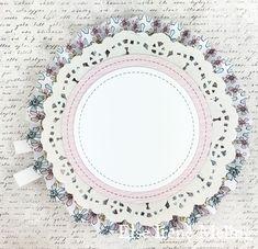 Kort & Godt Galleri: Lollipopkort Decorative Plates, Diamond