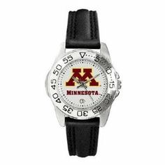 Minnesota Golden Gophers Suntime Ladies Sports Watch w/ Steel Band - NCAA College Athletics by Sun Time/Links Warner. $49.95. The Ladies Sport Steel watch by Suntime features your favorite team logo in a European styled stainless steel case with a stainless steel strap and security buckle.. Save 29%!