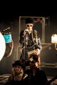 Photo shoot pics of musician Prince | Prince Photo: Justine Walope