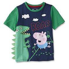 Nickelodeon Peppa Pig Toddler Boys' Graphic T-Shirt - George