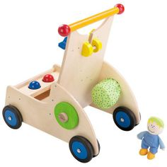 Carpenter Pixie Wagon by Haba at #OompaToys, the most trusted online source for top quality specialty toys. Visit Oompa.com.