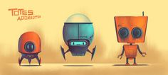 Totes Adorbots! by BrianEdwardMiller.deviantart.com on @DeviantArt