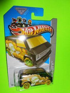2013 Hot Wheels Treasure Hunt ( CUSTOM '77 DODGE VAN )