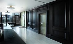 Interior with ROSBY wood wall panel system BARON-1