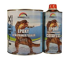 Epoxy Fast Dry 21 low voc DTM Primer  Sealer Gray Gallon Kit SMR260G261 ** Check out this great product.