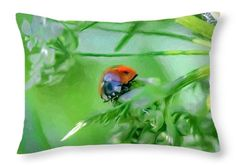 artistic painterly Lady in the green throw pillow print for saleLeif Sohlman