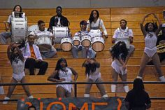 Coolidge vs Roosevelt - February 2014 - Band and Dancers Calvin Coolidge, February 8, Roosevelt, Dancers, Washington, High School, Band, Sash, Grammar School