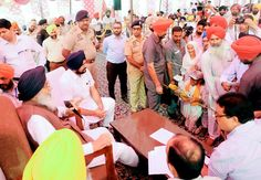 Chief Minister Mr. Parkash Singh Badal yesterday held Sangat Darshan program in Dera Baba Nanak assembly segment and reminded the people about notorious past of Congress to backtrack from promises made to them. He said that repeating the history Congress would dump the issue of debt waiver after coming to power in the state just like the promise of Garibi Hatao was never fulfilled by the Congress.  #AkaliDal #SangatDarshan #ParkashSinghBadal