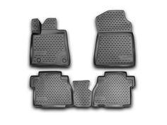 Novline 2012-2014 Toyota Tundra Double Cab CrewMax Black Floor Mats