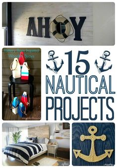Diy Ideas Tutorials For Nautical Home Decoration Diy Ideas