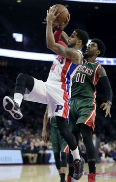 Pistons 98, Bucks 95: Brandon Jennings gets better of Brandon Knight as Detroit wins again | MLive.com