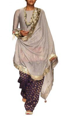 Tabassum Anarkali Suit | Strandofsilk.com - Indian Designers