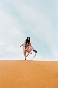 Daniela Braga Rocks Colorful Style for Nasty Gal's Pre-Spring 2013 Lookbook